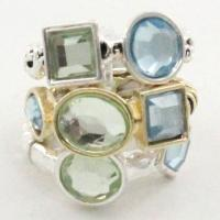 Jewelry - Rings - 1083 - Silver-Gold