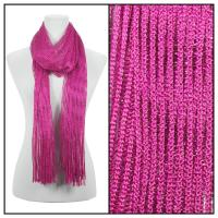 Scarves - Metallic 3117 - Hot Pink