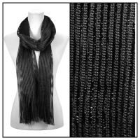 Scarves - Metallic 3117 - Black