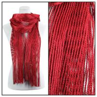 Scarves - Metallic 3117 - Red