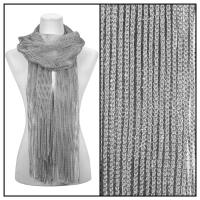 Scarves - Metallic 3117 - Silver