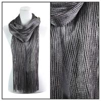 Scarves - Metallic 3117 - Dark Grey