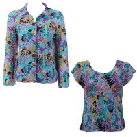 Twin Sets Silky Touch - Blouse / Cap Sleeve - Tropical Breeze