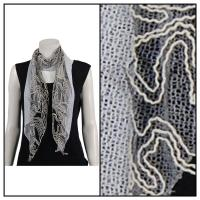 Scarves - Yarn Stitch 1051 - White
