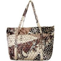 Quilted Bags - Large Tote - (Save for Fall)Patchwork Paisley Jungle