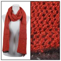 Scarves - Crochet Two-Ply 8086 - Paprika-Java