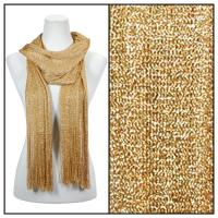 Scarves - Metallic Mesh 102 - Gold