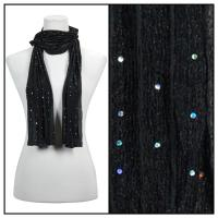 Scarves - Sequined 4118 - Black