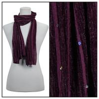 Scarves - Sequined 4118 - Purple