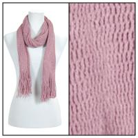 Scarves - Crochet Mesh Tubed 4073 - Purple