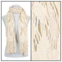 Scarves - Abstract Weave 4101 - Beige