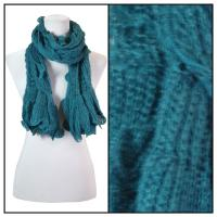 Scarves - Crochet Wave 4068 - Green