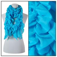 Scarves - Bohemian Solid 3171 - Blue