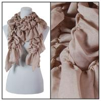 Scarves - Bohemian Solid 3171 - Brown