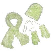 Gift Sets - Children's Magic Scarf - Baby Green Child's Set