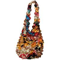 Popcorn Bags - Abstract Paint Splatter - Gold- Gold