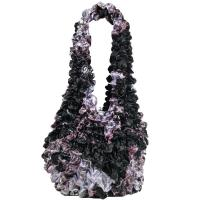 Popcorn Bags - Abstract Floral Purple-Rose - Maroon