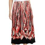 Skirts - Georgette Mini Pleat - Calf Length