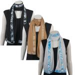 Button Scarves - Georgette