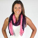 Oblong Scarves - Two-Tone Crinkle 908081*