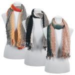 Scarves - Pleated Ombre 686