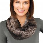 Infinity Scarves - Faux Fur 1415*
