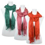 Scarves - Cotton/Silk Blend 100