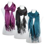 Scarves - Metallic Striped 3114