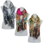 Scarves - Abstract Paisley 009