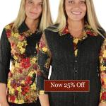 Magic Crush - Reversible Button Up Vests