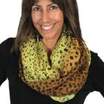 Infinity Scarves Wide - Animal Print 3064