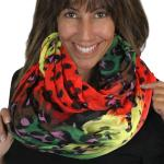 Infinity Scarves Wide - Animal & Dots 3119
