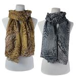 Scarves - Abstract Animal 3127