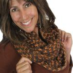 Infinity Scarves - Jagged Stripe 4326