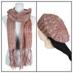 Scarves & Hats - Knit Sequined