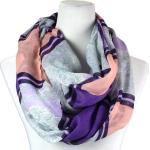 Infinity Scarves - Cross Stripe Lace 3727