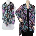 Big Scarves/Shawls - Multi Color 026