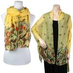 Big Scarves/Shawls - Butterfly Bottom 967
