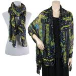 Big Scarves/Shawls - African Abstract 1012