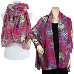 Big Scarves/Shawls - Flower Fantasy 4338