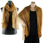 Big Scarves/Shawls - Variegated Crinkle 1501