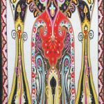 Paisley Abstract Design Scarves FZS113