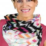 Infinity Scarves Wide - Modern Chevron 3788