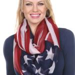 Infinity Scarves Wide - Flag 0020