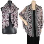 Big Scarves/Shawls - Animal Print 1004