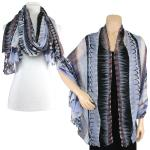 Big Scarves/Shawls - Geometric Designs 1043
