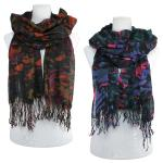 Scarves - Abstract Paint Splatter 1059
