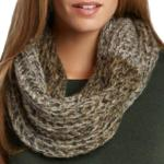Infinity Scarves - Two-Tone Knit 3949