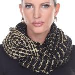 Infinity Scarves - Metallic Thread 164*