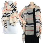 Big Scarves/Shawls - Striped 1169